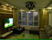 高层精装 两室一厅 全明户型