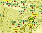 芒果连锁店分布图 (截至2006年11月10日)